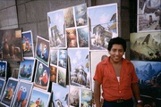 Bilderstand in Lima