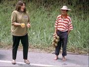 Milena unterwegs in Kolumbien