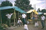 Auf einem Markt in Kolumbien
