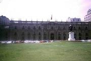 "Präsidentenpalast ""La Moneda"" in Santiago"