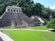 Palenque-Tempel der Inschriften