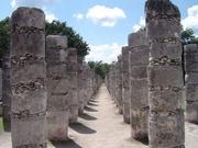 Chichén-Itzá-Säulengang