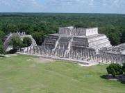 Chichén-Itzá-Palast der Krieger