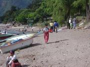 am Lago de Atitlán