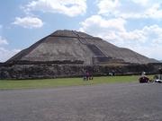 Teotihuacán-Sonnenpyramide