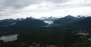 Blick auf den Mendenhall Gletscher