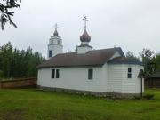 neue Kirche in Ekluthna Village