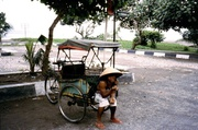Becak in Pangandaran