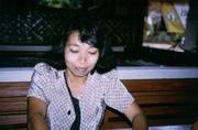 Kellnerin in Pangandaran
