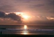 Sonnenuntergang auf Bali