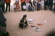 Schlangenbeschwörer in Patan