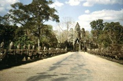 Straße der Riesen in Angkor