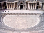 Amphitheater in Bosra