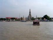 Blick auf Wat Arun