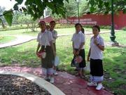 Schüler in Vientiane