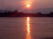 auf dem Mekong
