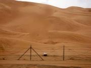 Sanddünen vor Dubai