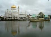 Moschee und Barke