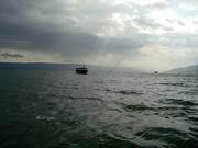 auf dem See Genezareth