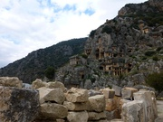 Felsengräber in Myra