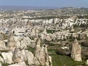 Panoramablick auf Kappadokien