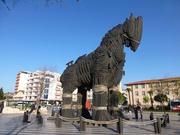 Trojanisches Pferd in Çanakkale