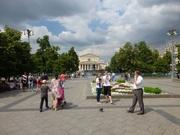 Bolschoitheater und Revolutionsplatz