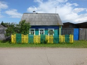 typisches Holzhaus