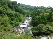 beim Kiyomizo-dera Tempel
