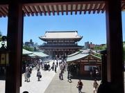beim Sensoji Tempel