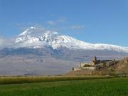 Chor Virap im Schutze des Ararat