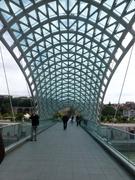 auf der Friedensbrücke