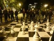 """Schachspieler """"bei der Arbeit"""""""