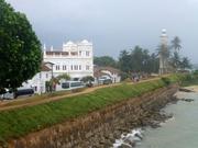 Moschee und Leuchtturm in Galle