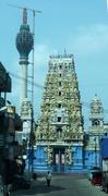 Hindutempel und Lotusturm