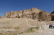 Blick auf Naqsh-e Rostam