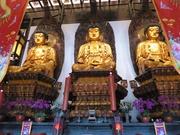 im Jade-Buddha-Tempel