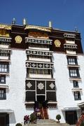 oben residierte der Dalai Lama