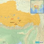 Tibetkarte