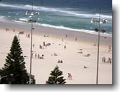 Blick aus dem Hotel an der Gold Coast