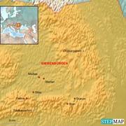 Karte Siebenbürgen