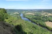 Blick auf die Dordogne