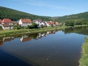 die Weser bei Vaake