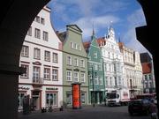 hanseatische Giebelhuser in Rostock