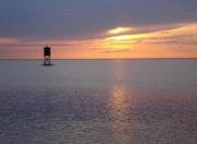 Sonnenuntergang über der Nordsee