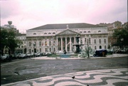 Rossio mit Nationaltheater