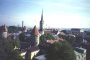 Blick auf Tallin