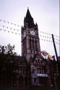Town Hall in Manchester