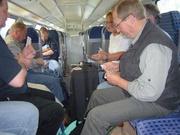 Im Zug nach Lübben