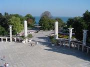 Blick aus dem Hotelzimmer in Varna